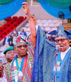 Osinbajo, Dapo Abiodun and President Buhari