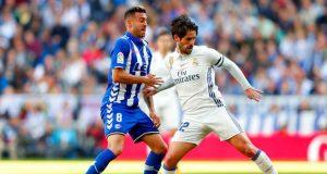 Real Madrid beat Alaves