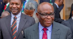 AGF Abubakar Malami and Justice Onnoghen