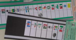 Specimen ballot papers