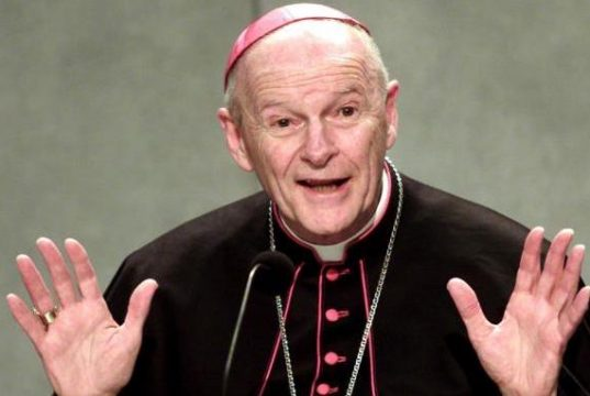 Theodore McCarrick, defrocked by Pope
