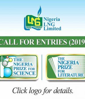 The Nigeria Prize for Science, The Nigeria Prize for Literature
