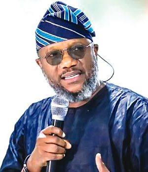 Adekunle Akinlade, APM Candidate in Ogun