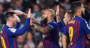 Barcelona decimate Real Bertis