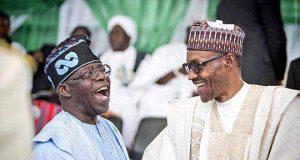 Bola Tinubu and President Buhari