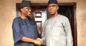 Daniel with Dapo Abiodun, Ogun Gov.-elect