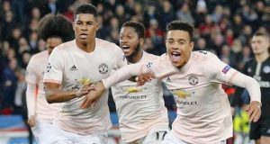 Man United stun PSG in France
