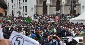 Massive protest against President Abdelaziz Bouteflika
