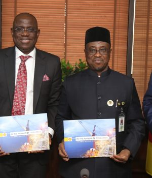 SNEPCo Presents 'In Pursuit of Excellence' to NNPC