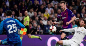 Ivan Rakitic scored his first La Liga goal since 20 October