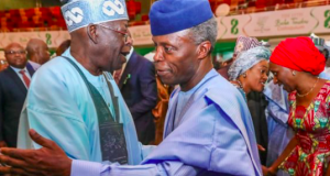 Tinubu with VP Osinbajo
