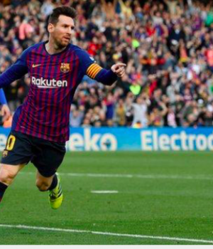 Messi has scored 22 goals in his last 15 La Liga games