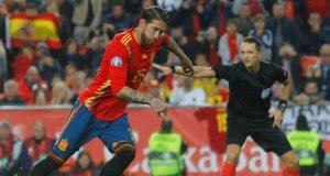Sergio Ramos' spot kick against Norway