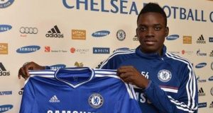 Bertrand Traore scored four goals in 16 first-team appearances for Chelsea in all competitions