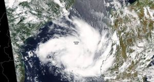 Tropical cyclone hit Mozambique