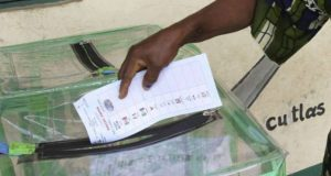 Voting in Kano