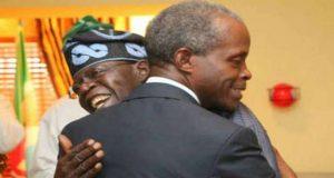 Yemi Osinbajo and Bola Tinubu