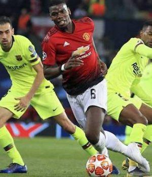 Barcelona beat Man United
