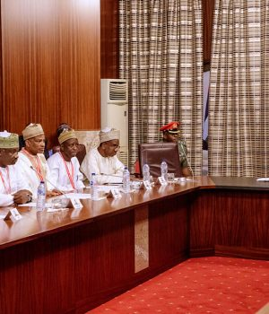 Buhari meets Members of Foundation for Good Governance for Development in Nigeria, UK
