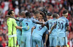 City crush United 2-0 at Old Trafford