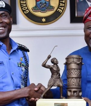 IGP Adamu Muhammed and Gov. Ambode