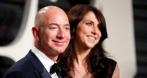 Jeff Bezos and MacKenzie