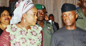 NGE President Funke Egbemode and VP Yemi Osinbajo