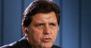 Peru's ex-President Alan Garcia