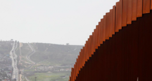 The border fence between Mexico and the United States is pictured from Tijuana, Mexico March 29, 2019
