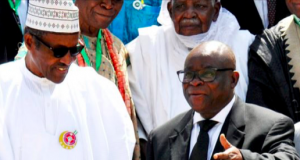 President Buhari with Justice Onnoghen