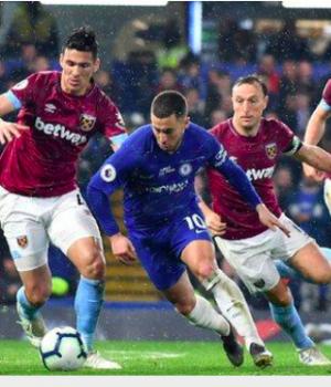 Hazard has scored 16 top-flight goals this season - three behind the Premier League's leading scorer Sergio Aguero