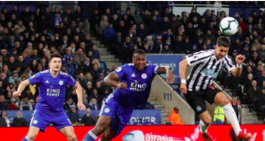 Perez scored his seventh Premier League goal of the season as Newcastle beat Leicester