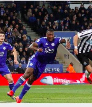 Perez scored his seventh Premier League goal of the season as Newcastle beat Leicester