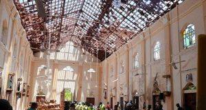 One of the scenes of the Sri Lanka attacks