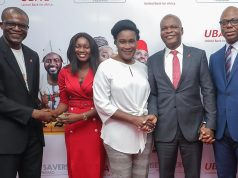 Some of the winners of UBA'a Wise Savers Promo