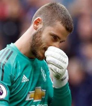 David de Gea, Man United goalkeeper
