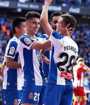 Espanyol spanked Atletico Madrid 3-0
