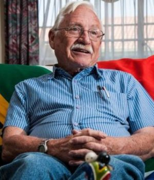 Fred Brownell, the designer of the South African flag