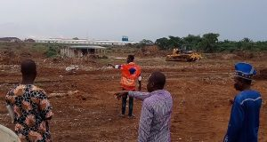 Igbesa farmland destruction by Chinese