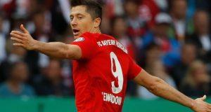 Lewandowski strikes twice as Bayern seal German double