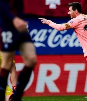 Messi scores two goals against Eibar in last La Liga game