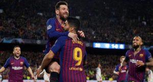 Messi-led Barca demolish Liverpool 3-0