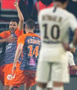 Montpellier beat PSG