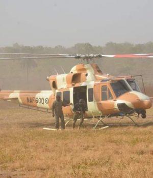 NAF neutralises bandits around Kamuku forest