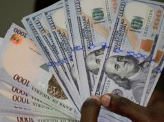Naira: dollar exchange