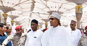 President Buhari in Saudi