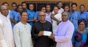 Peter Obi hospital ministration