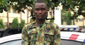 Fake soldier, Yusuf Quadri,