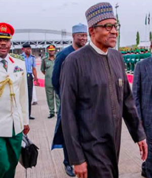 Buhari returns to Nigeria