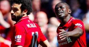 Sadio Mane (right) scored his 21st and 22nd goals of the season
